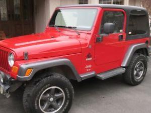 1998 Jeep Wrangler repair Montreal jeep repair montreal