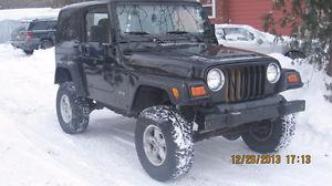 2000 Jeep Wrangler repair Montreal jeep repair montreal