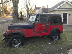 Jeep Cj7 repair Montreal jeep repair montreal