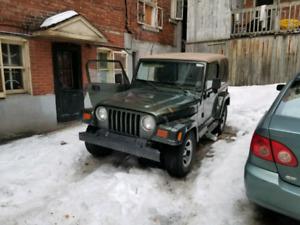 New Jeep Wrangler repair Montreal jeep repair montreal